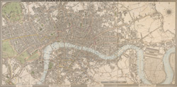 Cruchley's new plan of London improved to 1826. Including the East and West India Docks